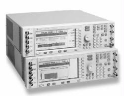 HP/AGILENT E4432B/1E5/UN3/UN5/UND SIGNAL GENERATOR, 250 KHZ-3.0 GHZ